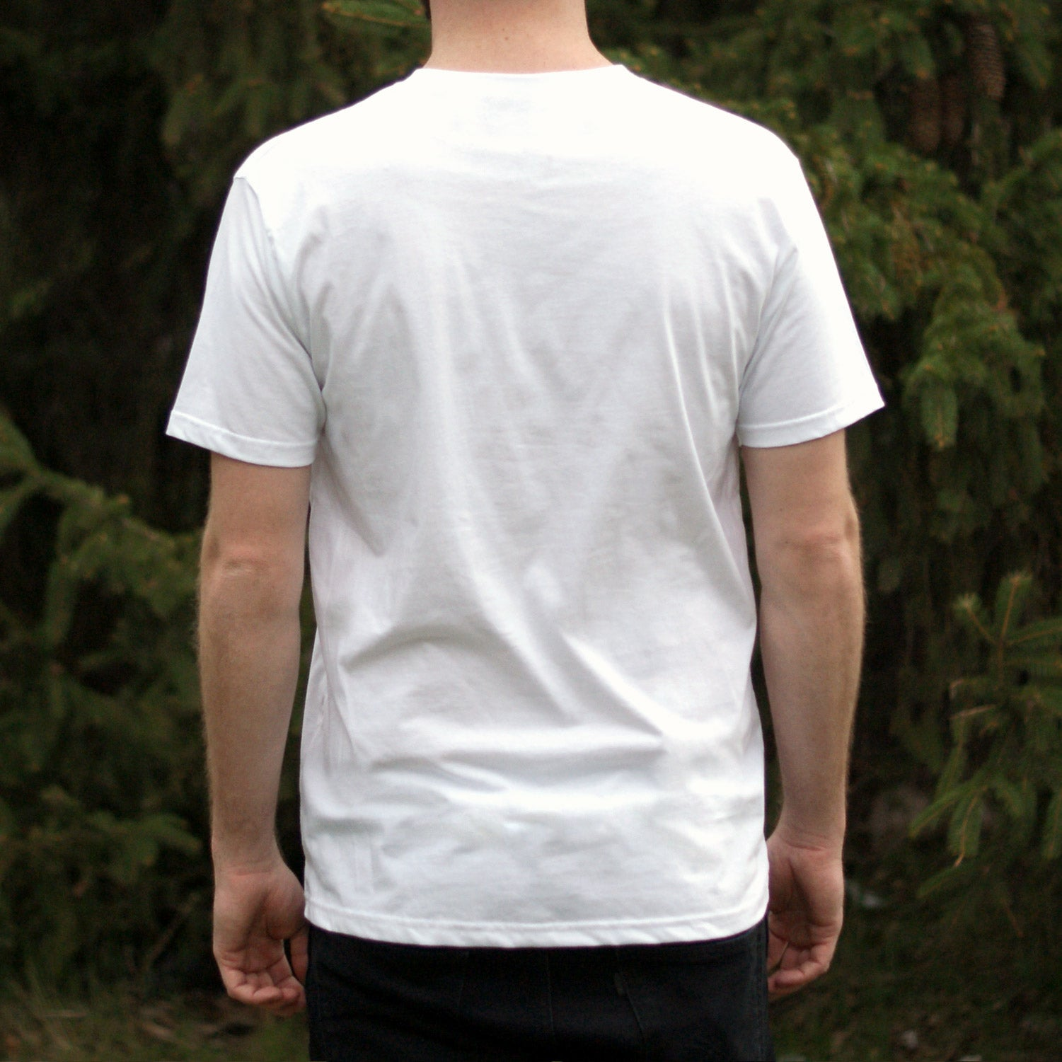 Fox Shield Tee - White