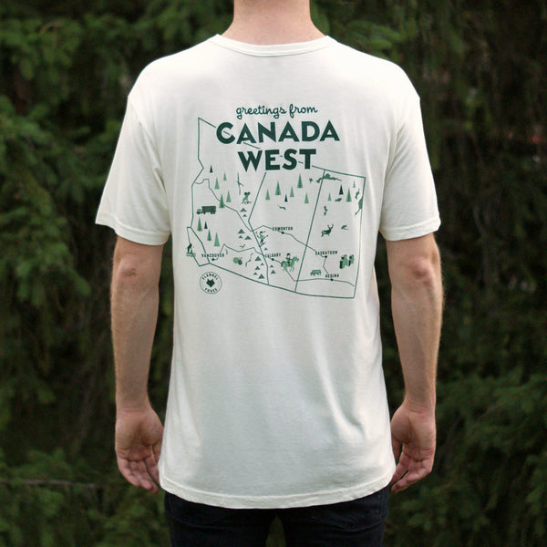 Highway Map Tee