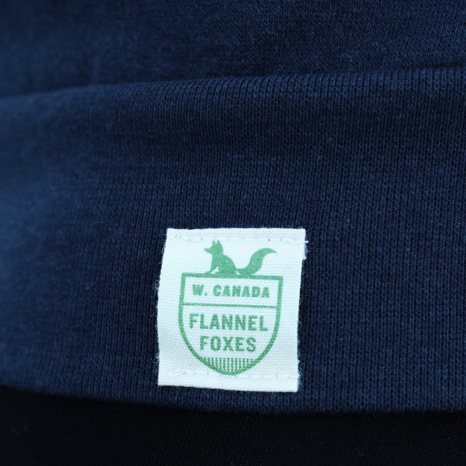 Maple Leaf Sweatshirt – Navy