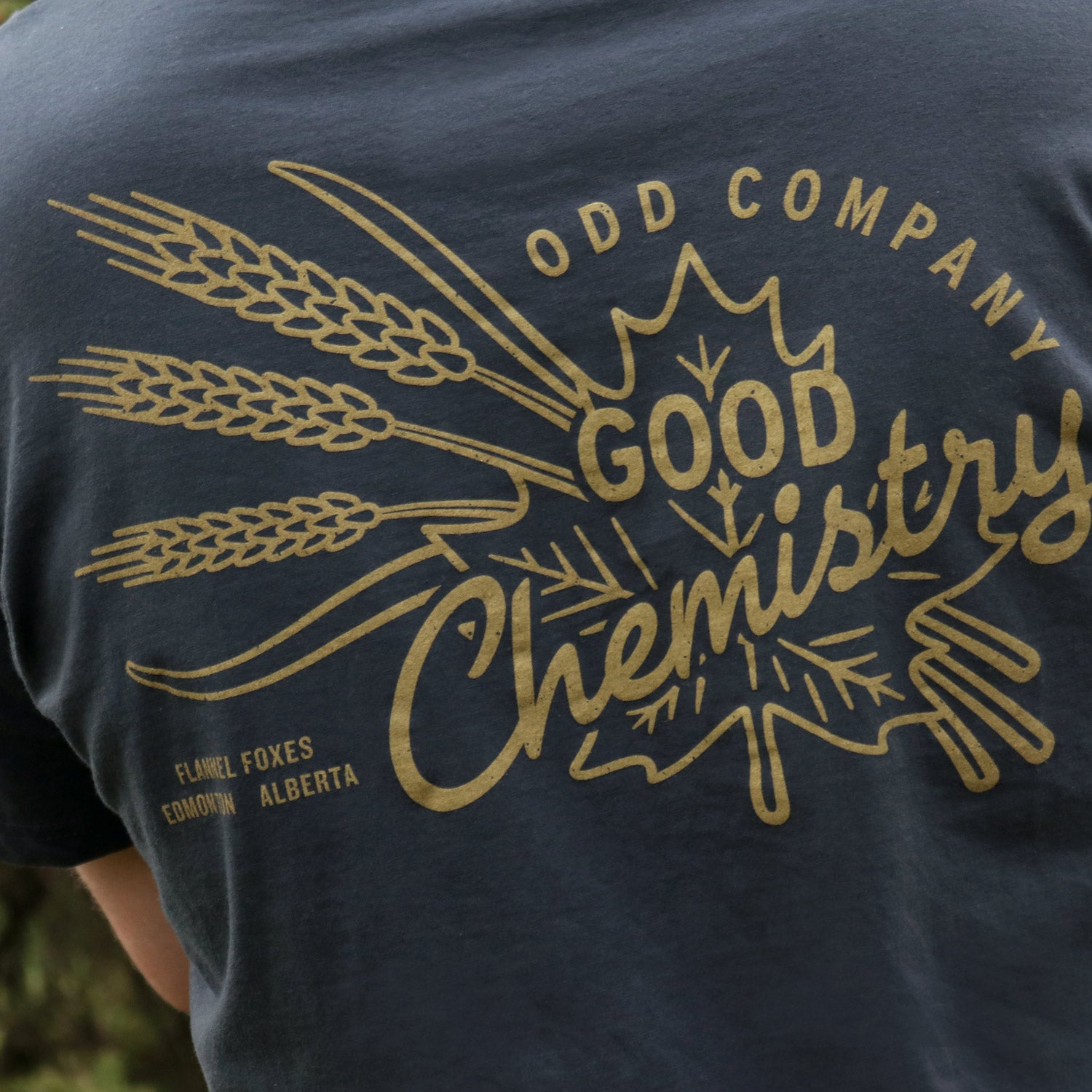 Flannel Foxes X Odd Company – Good Chemistry Tee