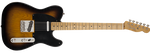 Guitarra Eléctrica Fender Telecaster Road Worn '50s Maple Fingerboard, 2-Color Sunburst