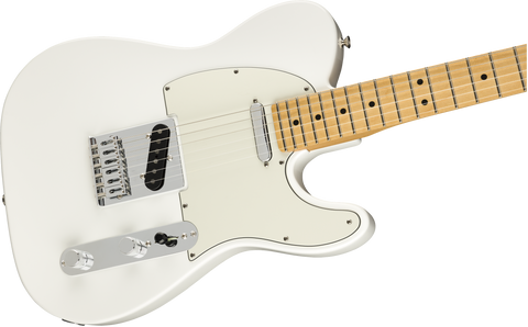 Guitarra Eléctrica Fender Player Telecaster, Maple Fingerboard, Polar White