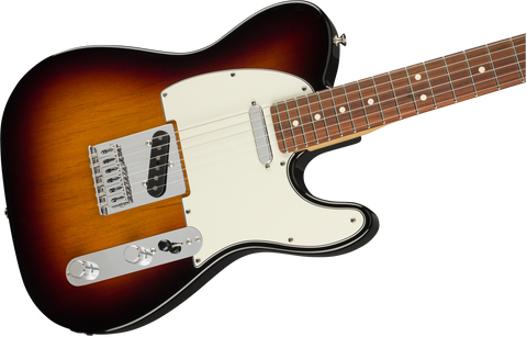 Guitarra Eléctrica Fender Player Telecaster, Pau Ferro Fingerboard, 3-Color Sunburst