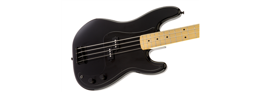 Roger Waters Precision Bass, Maple Fingerboard, Black