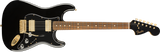 Guitarra Eléctrica Fender Limited Edition Mahogany Blacktop Pau Ferro Fingerboard, Black with Gold Hardware