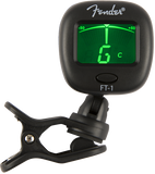 Afinador Fender FT-1 Pro Clip-On Tuner, Negro