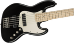 Bajo Electrico Squier Contemporary Active Jazz Bass V HH, Maple Fingerboard, Black