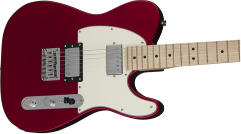 Guitarra Electrica Squier Contemporary Telecaster HH, Maple Fingerboard, Dark Metallic Red