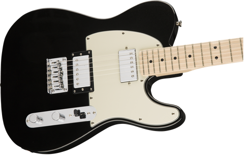 Guitarra Electrica Squier Contemporary Telecaster HH, Maple Fingerboard, Black Metallic