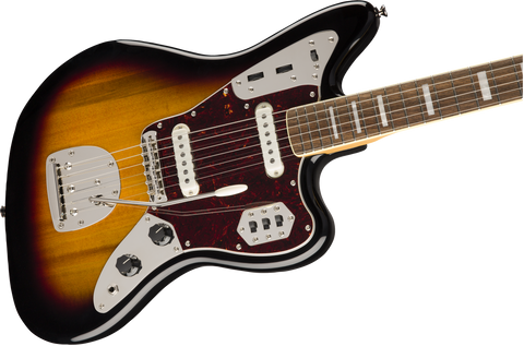 Guitarra Eléctrica Squier Classic Vibe '70s Jaguar, Laurel Fingerboard, 3-Color