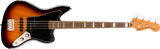 Bajo Electrico Squier Classic Vibe Jaguar Bass, Laurel Fingerboard, 3-Color Sunburst