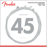 9050 STAINLESS FLATWOUND BASS STRINGS 45-100
