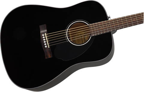 Guitarra Acústica Fender CD-60S Dread, Black WN