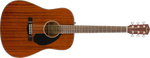 Guitarra Acústica Fender CD-60S Dreadnought, Walnut Fingerboard, All-Mahogany