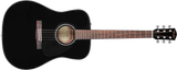 CD-60 Dreadnought V3 w/Case, Walnut Fingerboard, Black
