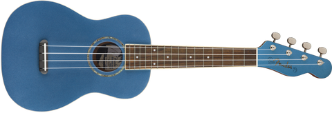 Ukulele Concierto Fender Zuma Classic Lake Placid Blue
