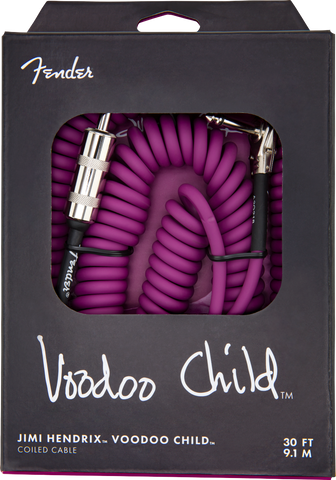 JH VOODOO CHILD CABLE  PRPL 30'