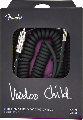JH VOODOO CHILD CABLE BLK  30'