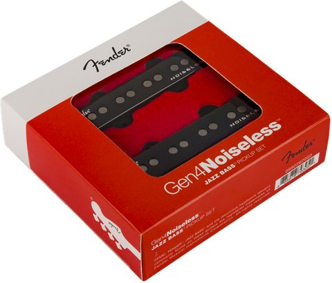 GEN 4 NOISELESS JAZZ BASS  PICKUPS