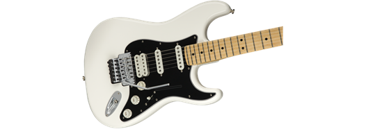 Player Stratocaster with Floyd Rose, Maple Fingerboard, Polar White