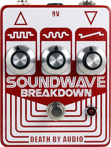 SOUNDWAVE BREAKDOWN DEATH BY AUDIO