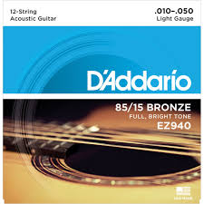 ENCORDADURA DADDARIO 12 STRINGS