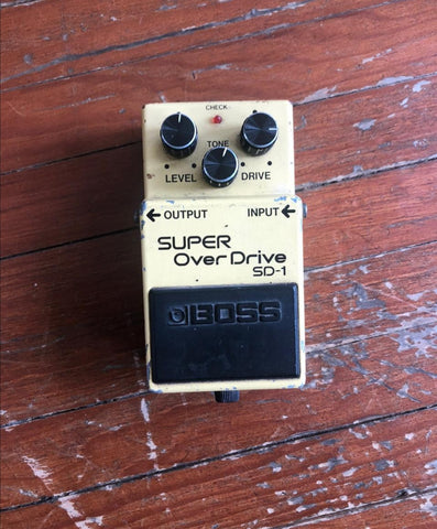 Super Overdrive Boss SD-1