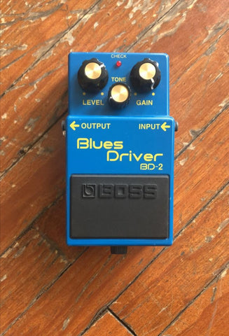 Blues Driver Boss Bd-2
