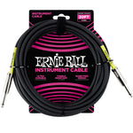 Cable Ernie Ball 6.09mts, negro