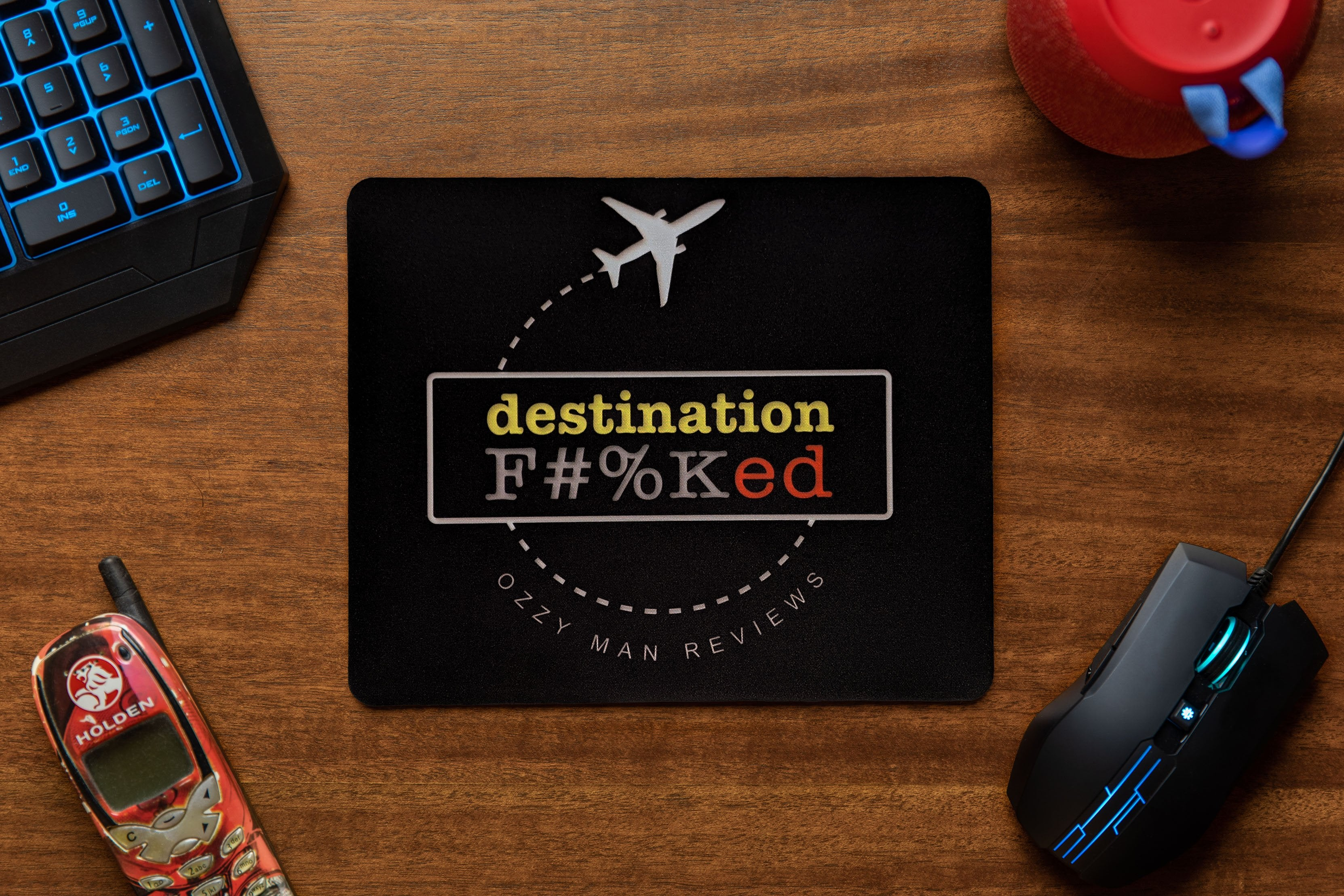 Destination F#%Ked Departure Mouse Pad
