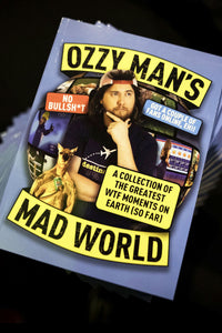 Ozzy Man's Mad World Book (SIGNED)