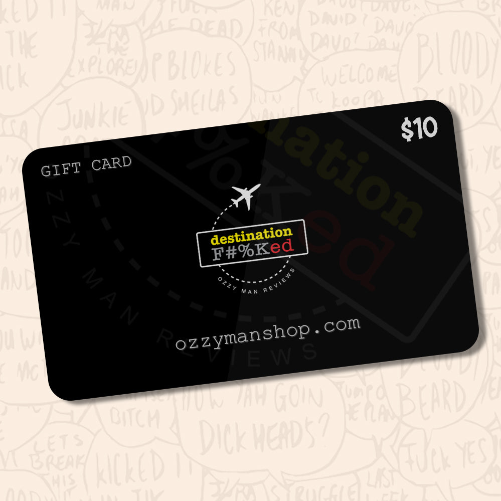 Ozzy Man's Digital Gift Card
