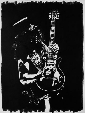 Slash Sharpie Art by Lee Ajax Olson