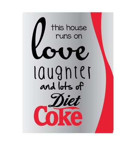 Diet Coke - Canvas Print