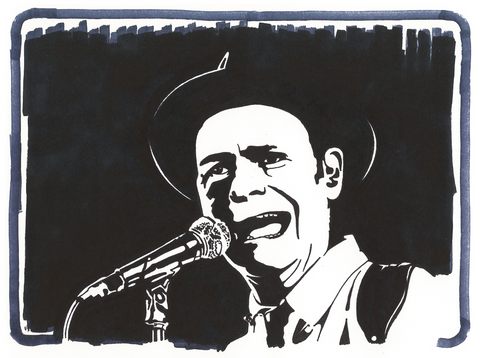 Tragically Hip Sharpie Art by Lee Ajax Olson