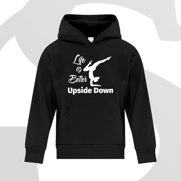 Life is Better upside Down Hoodie