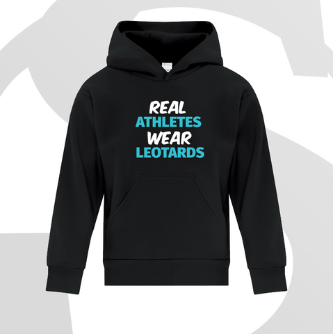 Real Athletes Wear Leotards Hoodie