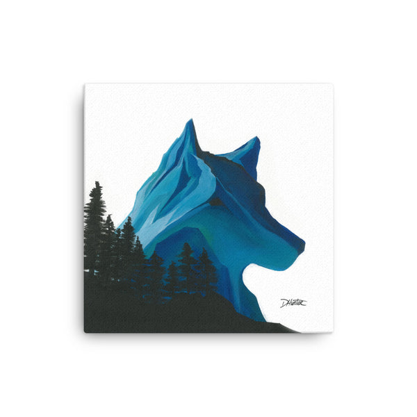 Wolf by Dani Canvas Print