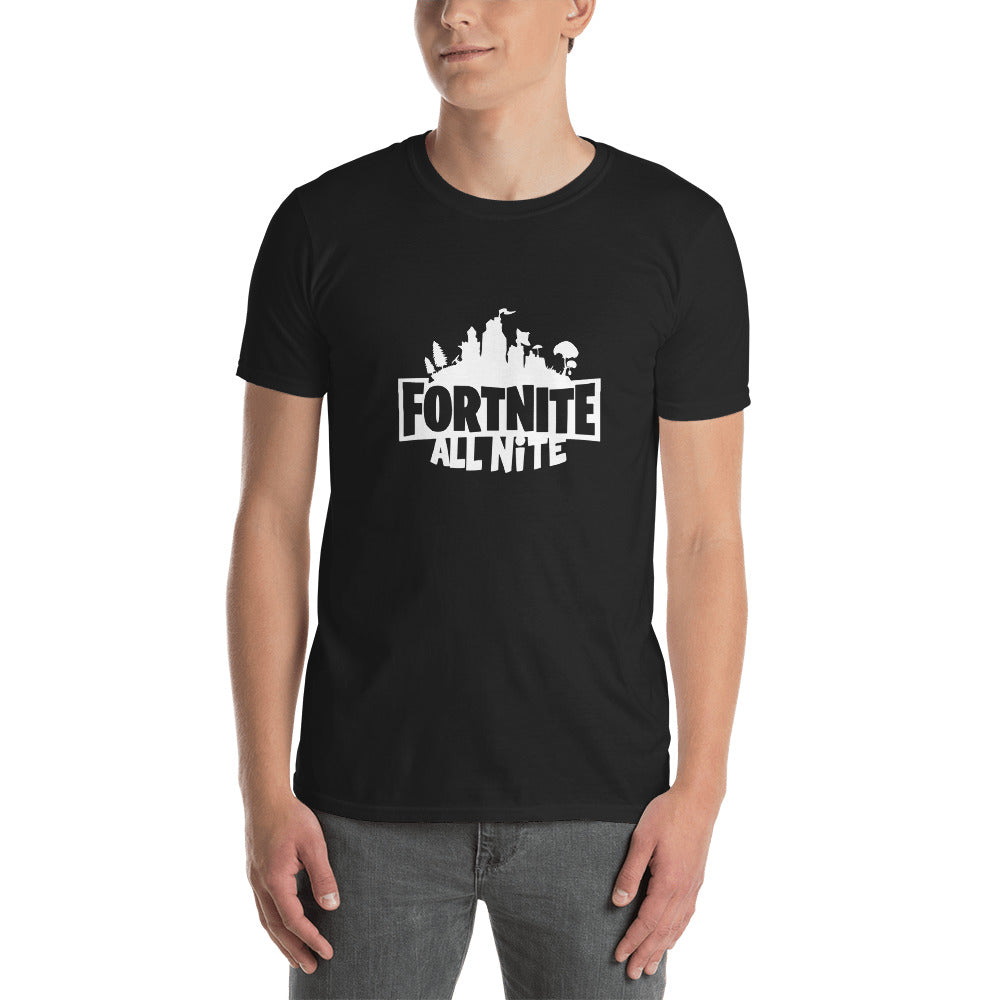 Fortnite All Nite Short-Sleeve Unisex T-Shirt