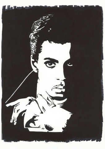 Prince Sharpie Art by Lee Ajax Olson