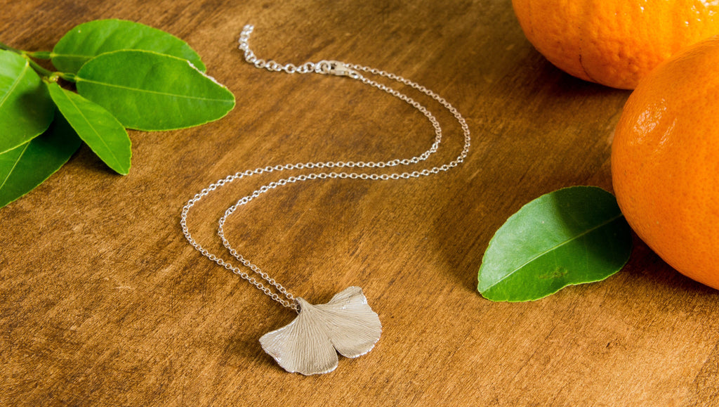 In My Jewellery Box - Gingko Leaf Pendants