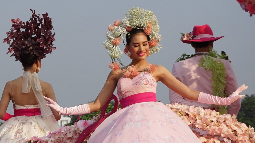 Chiang Mai Flower Festival 2019 Costumes
