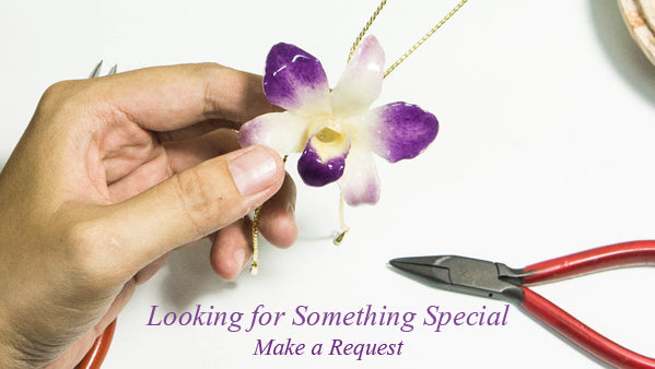 We craft all our own jewellery so can create something special for you on request