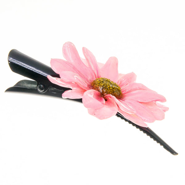 Aster Hairclip - Hot Pink