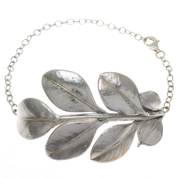Japanese Box Leaf Bracelet