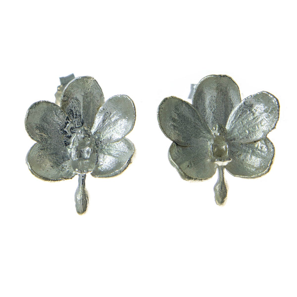 Ascocentrum Orchid Earrings