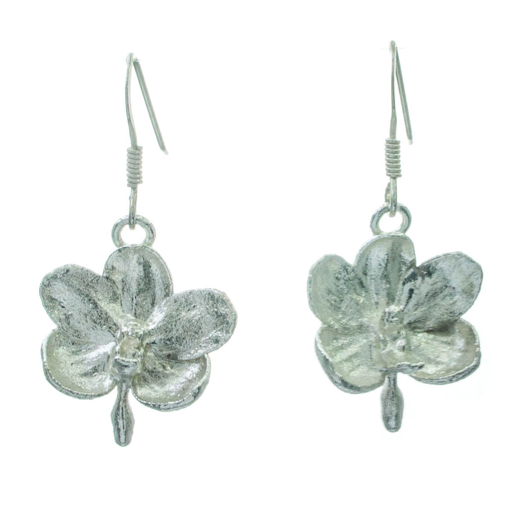 Ascocentrum Orchid Drop Earrings