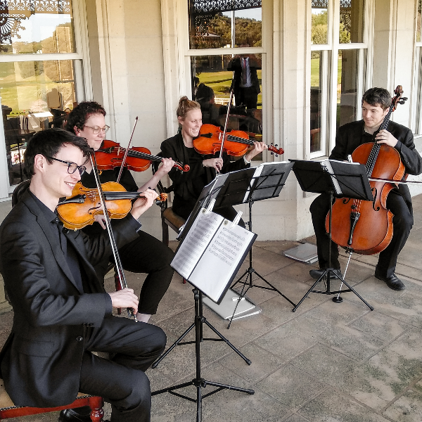 Organic Quartet Exude Class at Melbourne Wedding Ceremonies