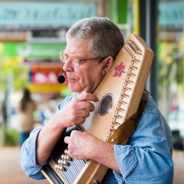 A Man and His Harp Will Be a Beautiful Addition to Your Next Event