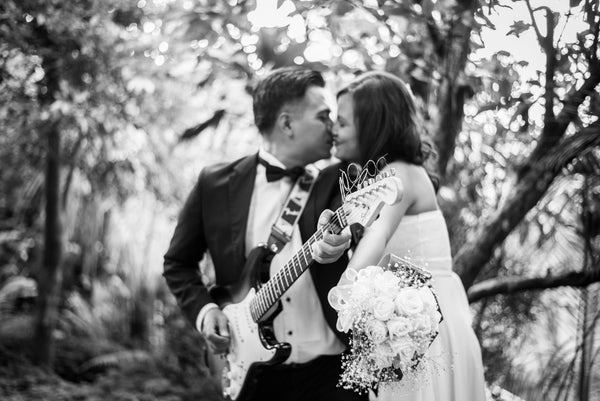 How to choose great live music for your wedding processional, recessional, canapés and reception.